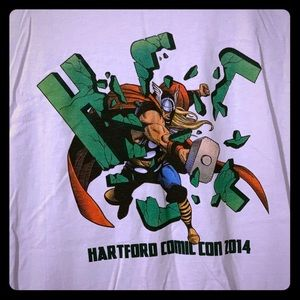 Other - Hartford Comic Con 2014 Thor T-Shirt, 3XL